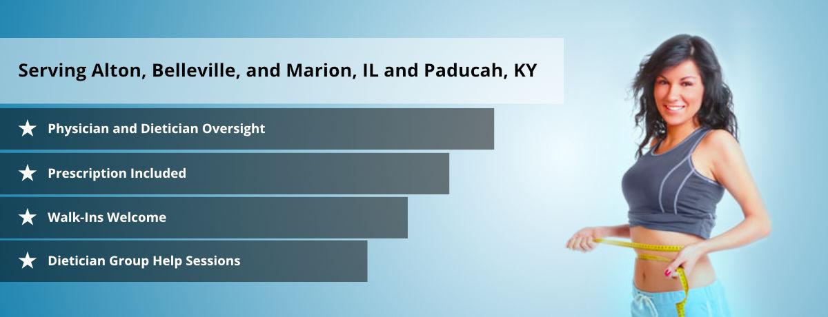 SI Medical Weight Loss Serving: Alton, IL - Belleville, IL - Marion, IL - Paducah, KY